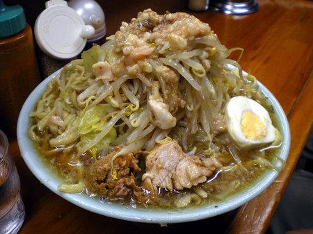 板橋富士丸ラーメン野菜091407