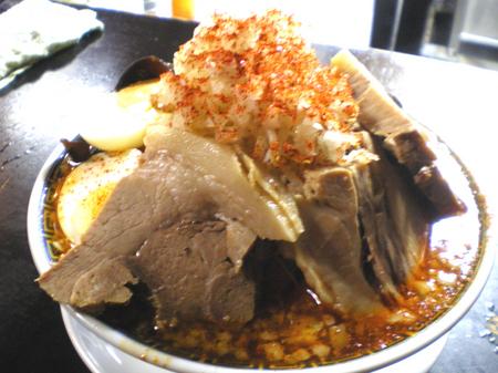 柏角ふじ赤ふじ麺小ブタ100307