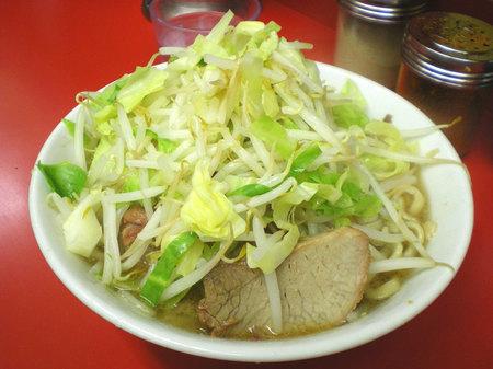 桜台二郎ラーメン野菜092807